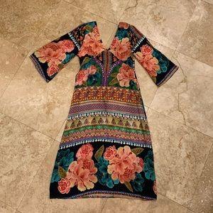 FARM Rio midi dress/cover up; M